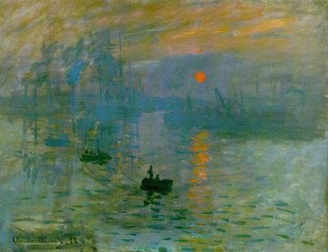 Уметност, сликарство итн Im-monet-sunrise