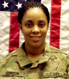 Army Spc. Brittany Gordon (1988-2012)